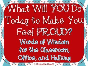 Words of Wisdom Bulletin Board Set