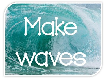 **BEACH Themed** Words of Wisdom from the Sea {Inspirational Posters}