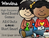 Words of Wonders: First Grade High-Frequency Word Board Games