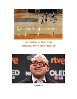 Words of a Champion: Actor Jesús Vidal's Compelling Acceptance Speech (Spain)
