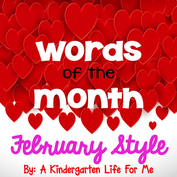Words of the Month - February Style
