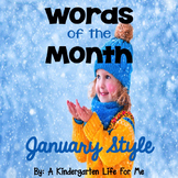 Words of the Month - January Style