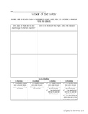 Words of the Wiser Notice and Note Organizer with Rubric