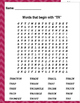"""Words that begin with """"TR"""" (Based on Orton Gillingham.) 3 pages of practice."""