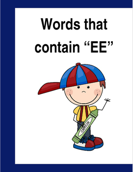 "Words that contain ""EE"" (Based on Orton Gillingham.) 3 pages of practice."