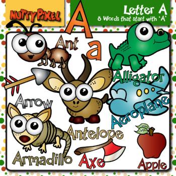 Letter A - Alphabet Clip Art