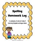 Words their Way Commonly Misspelled Words Spelling Homework Book