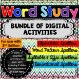 Words Our Way Digital Activities - a BUNDLE for Google Drive 2nd Edition