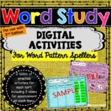 Words Their Way - Word Patterns DIGITAL Activities