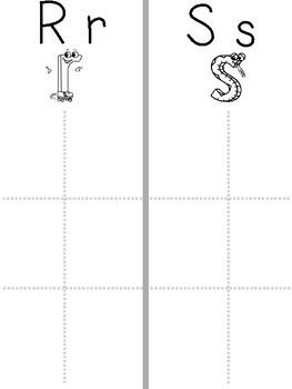 Words their Way - kindergarten letter sound sort