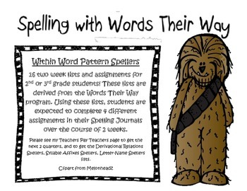 Words their way Within Word Pattern Spellers