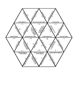 Words to Expressions Hexagon Puzzle