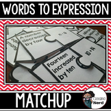 Words to Expressions Match Up
