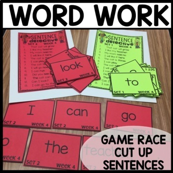 Word Work (Unit 1 WEEK 4)