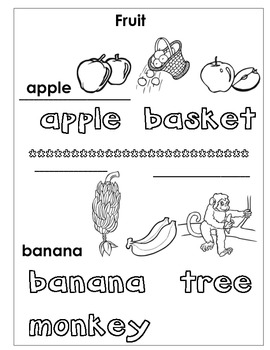 Words to Know, Words to Grow -Language Development Pre-K to 1st gr. .