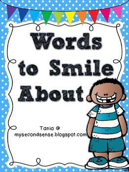 Words to Smile About (Polka Dots)