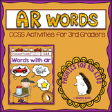 Words with AR Crossword Puzzle - Common Core Grade 3 - Pho