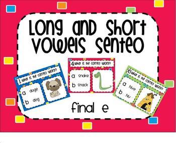 Words with Final e SMARTBoard Senteo Lesson