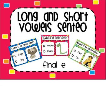 Words with Final e SMARTBoard Senteo Lesson