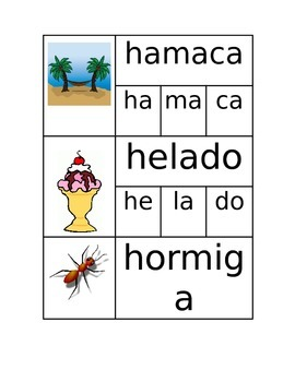 Words with H in Spanish