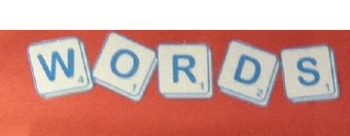 Words with Health-Eye catching bulletin board!