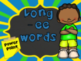 Words with Long -ee PowerPoints