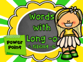 Words with Long o and Silent e PowerPoint