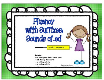 Words with Suffixes: Sounds of -ed: Level 5 Lesson 4