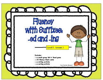 Words with Suffixes -ed and -ing: Level 5 Lesson 3