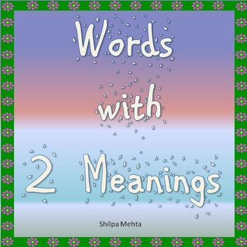Words with Two Meanings