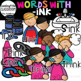 Words with -ink  {Word Family Clip Art}