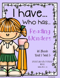 """Words with oi, oy Reading Wonders """"I have, Who has?"""""""