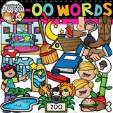 Words with -oo {Phonics Clipart}