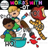 Words with -ot  {Word Family Clip Art}
