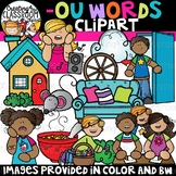 Words with -ou {Phonics Clipart}
