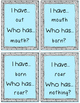 "Words with ou, ow Reading Wonders ""I have, Who has?"""