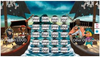 Words with the OU OW Sound Smart Lab Interactive Whiteboard Activities