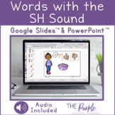 Words with the SH Sound