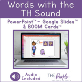 Words with the TH Sound