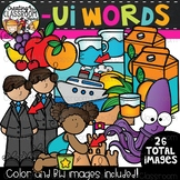 Words with -ui {Phonics Clipart}
