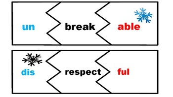 Words with Prefixes and Suffixes