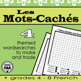 Illustrated, Make-your-own Wordseaches/Mots-Cachés