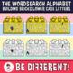 Wordsearch Alphabet Clipart Letters Building Bricks (Lower Case Letters)