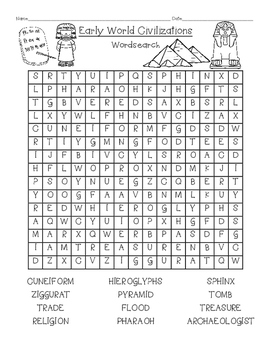 Wordsearch Collection for 1st grade- Engage New York