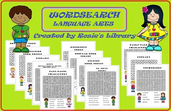 Wordsearch Language Arts Collection