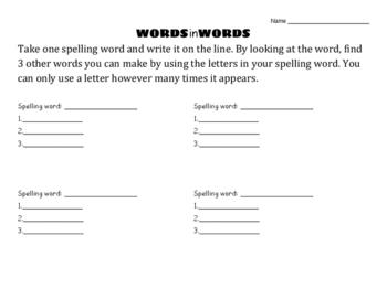 WordsinWords