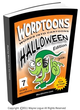 Wordtoons Halloween  7 Scary Words into Cartoons