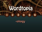 Wordtopia Free Preview: Vocabulary Word Parts Latin and Greek Roots