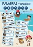 Wordwall PIRATES (SPANISH) / Palabras de los PIRATAS