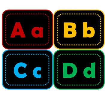 Wordwall letter labels 2